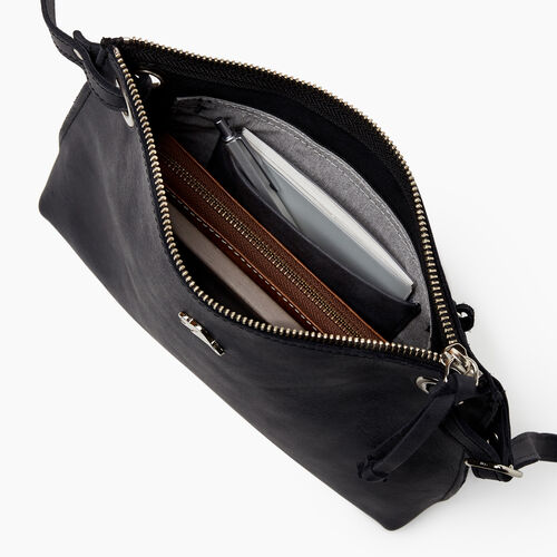 Roots-Leather  Handcrafted By Us Our Favourite New Arrivals-Edie Bag-Jet Black-E
