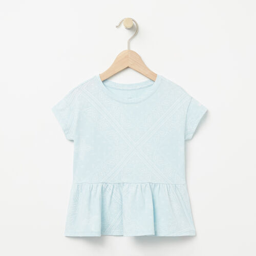 Roots-Kids Tops-Toddler Open Air Top-Chambray Blue-A
