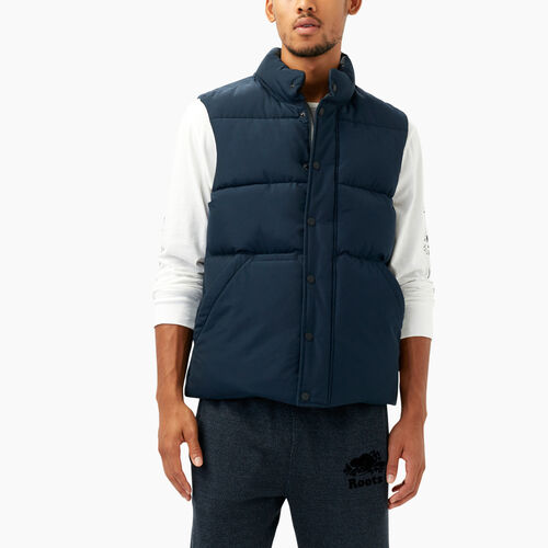 Roots-Men Outerwear-Kootenay Vest-Thunder-A