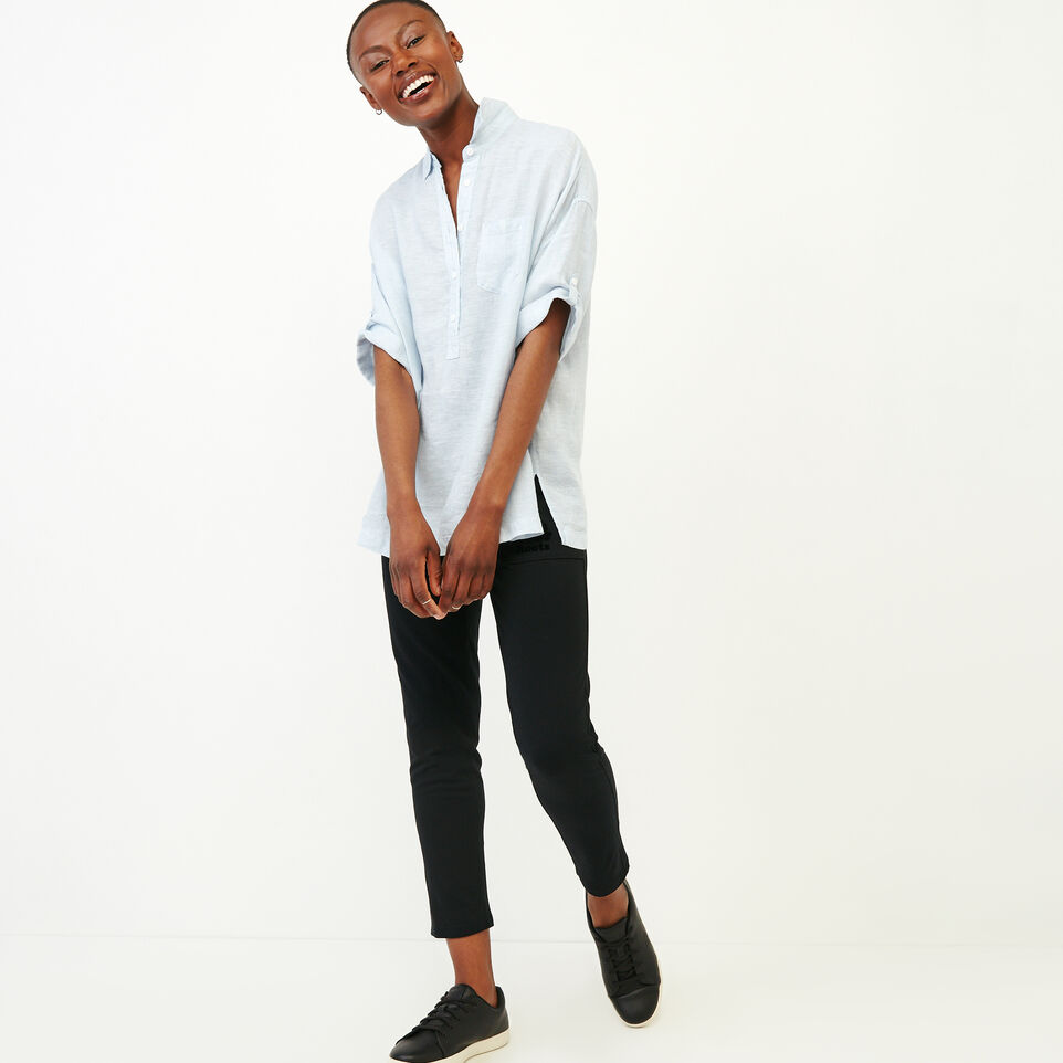 Roots-Women Our Favourite New Arrivals-Rivieres Popover Shirt-Skyway-B