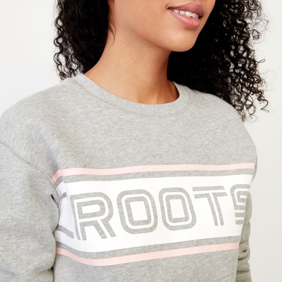 Roots-undefined-Ribbon Crew Sweatshirt-undefined-D