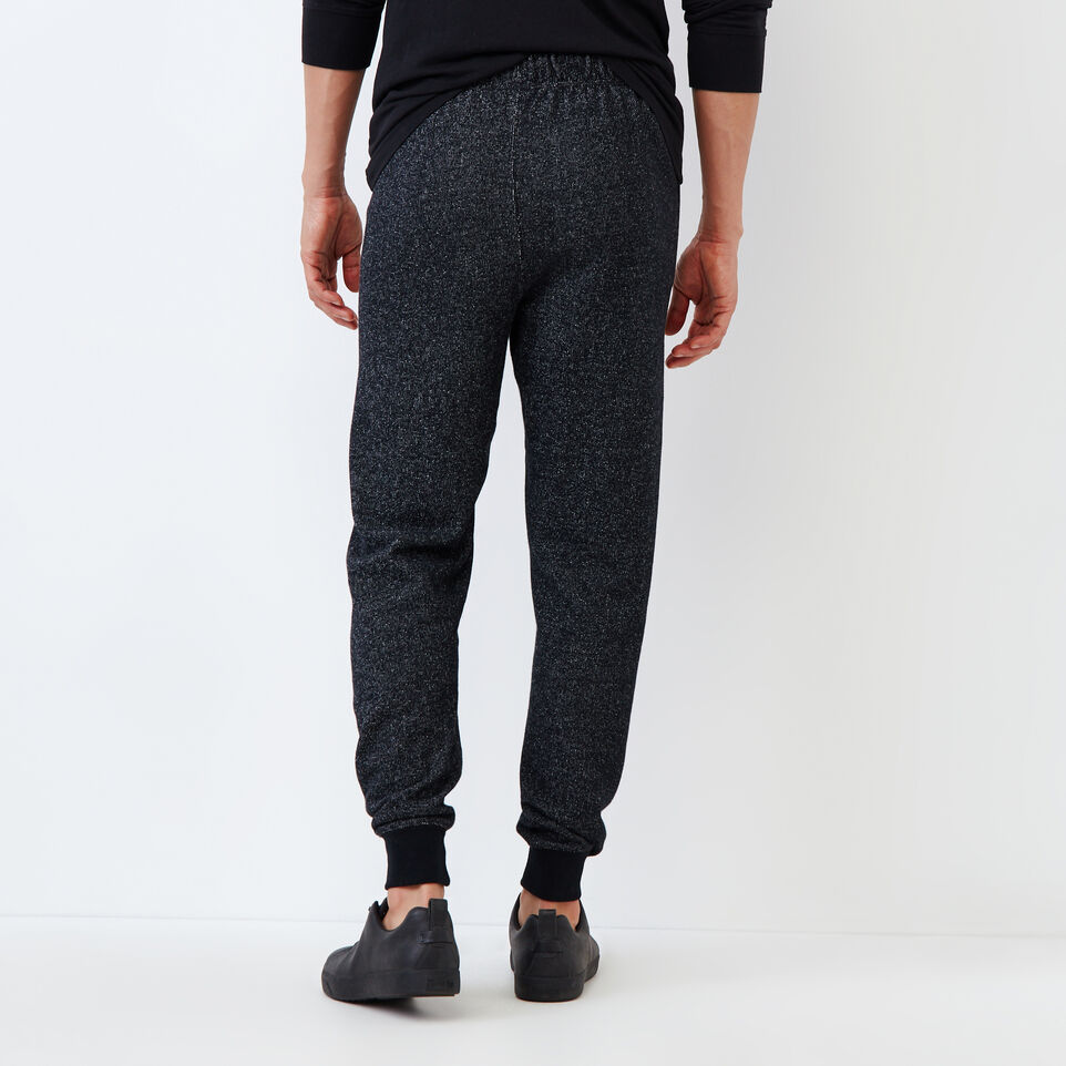 Roots-Men Slim Sweatpants-Park Slim Sweatpant-Black Pepper-D
