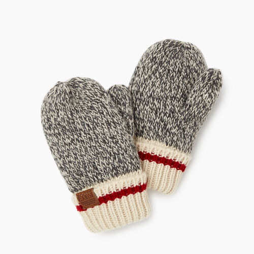 Roots-Clearance Kids-Toddler Cabin Mitt-Grey Oat Mix-A