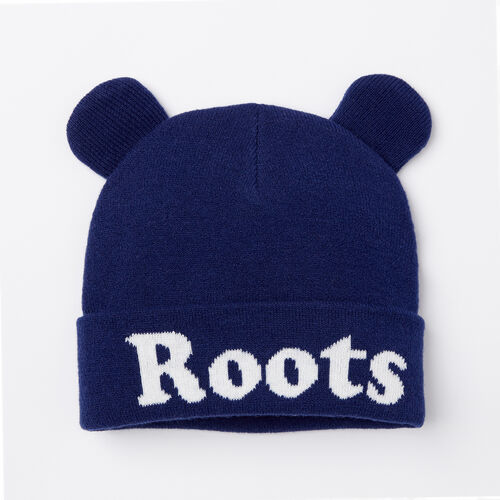 Roots-Kids Accessories-Toddler Cooper Glow Toque-Blue Depths-A