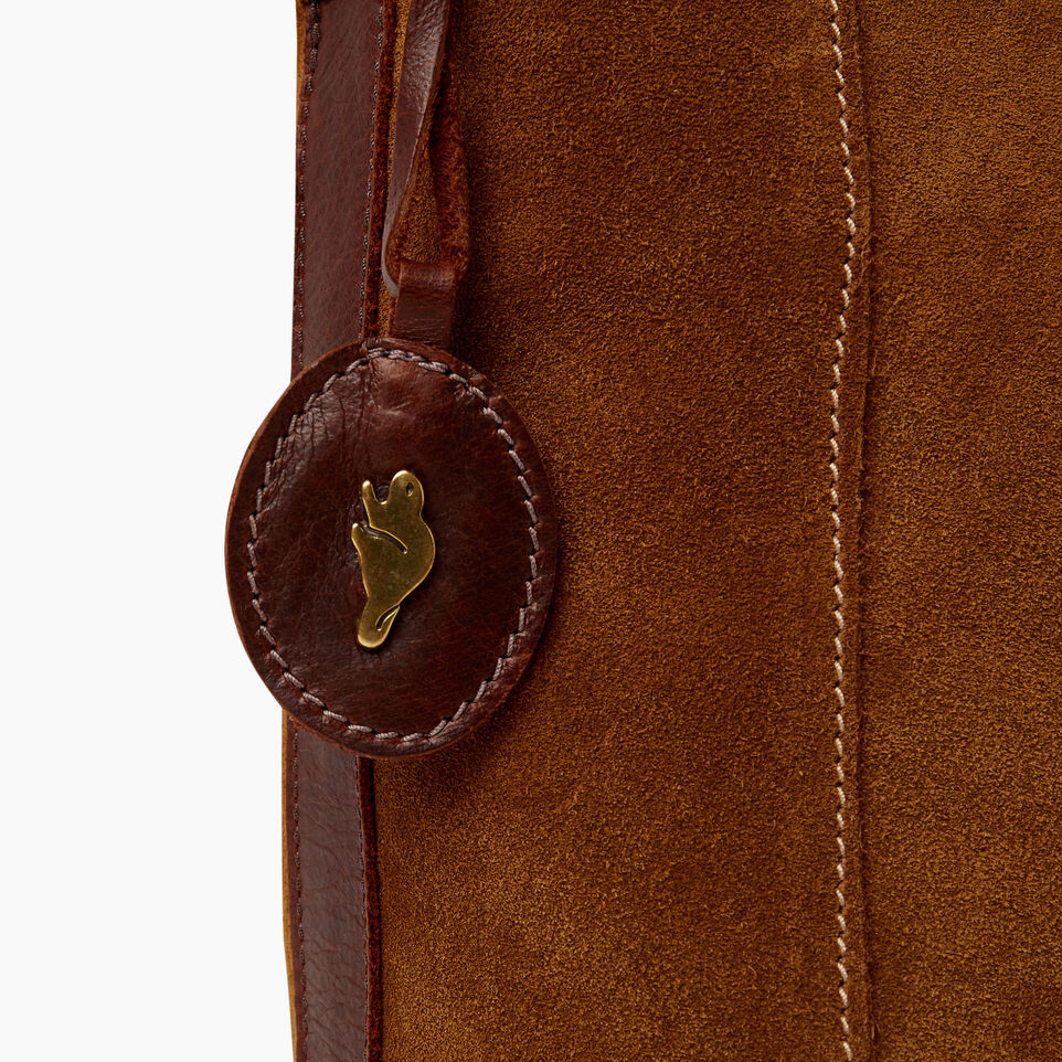 Roots-Leather  Handcrafted By Us Our Favourite New Arrivals-Victoria Bucket Suede-Tan-E