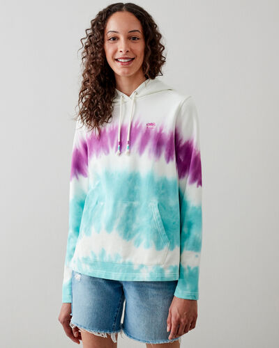 Roots-Sweats Sweatsuit Sets-Camp Tie Dye Hoody-Egret-A