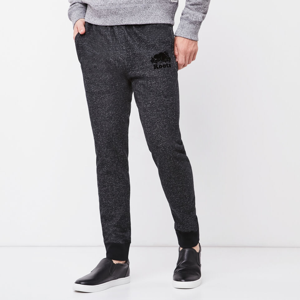 Roots-undefined-Roots Black Pepper Park Slim Sweatpant-undefined-A
