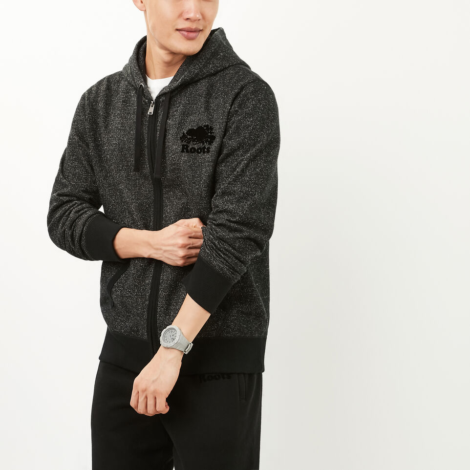 Roots-Black Pepper Original Full Zip Hoody