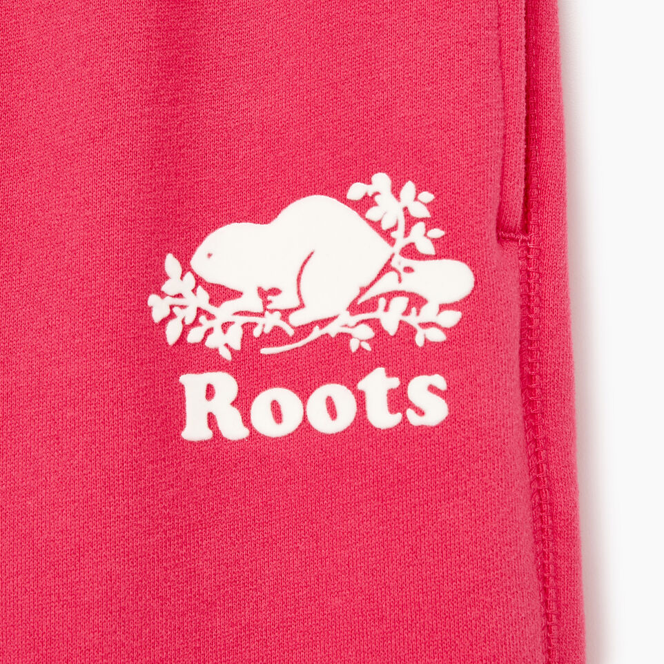 Roots-Kids Our Favourite New Arrivals-Girls Original Roots Sweatpant-Pink Flambã‰-D