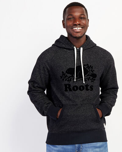 Roots-Men Sweatshirts & Hoodies-Original Kanga Hoody-Black Pepper-A