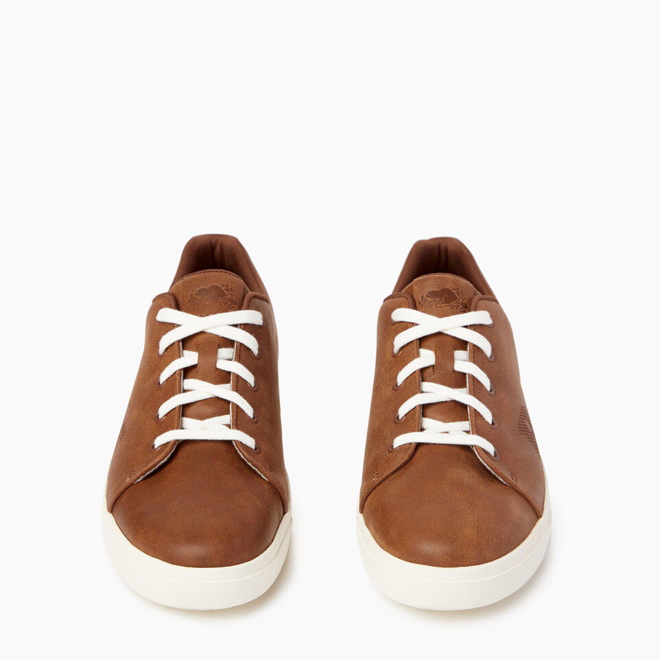 Roots-Footwear Our Favourite New Arrivals-Mens Rosedale Lace Sneaker-Natural-D