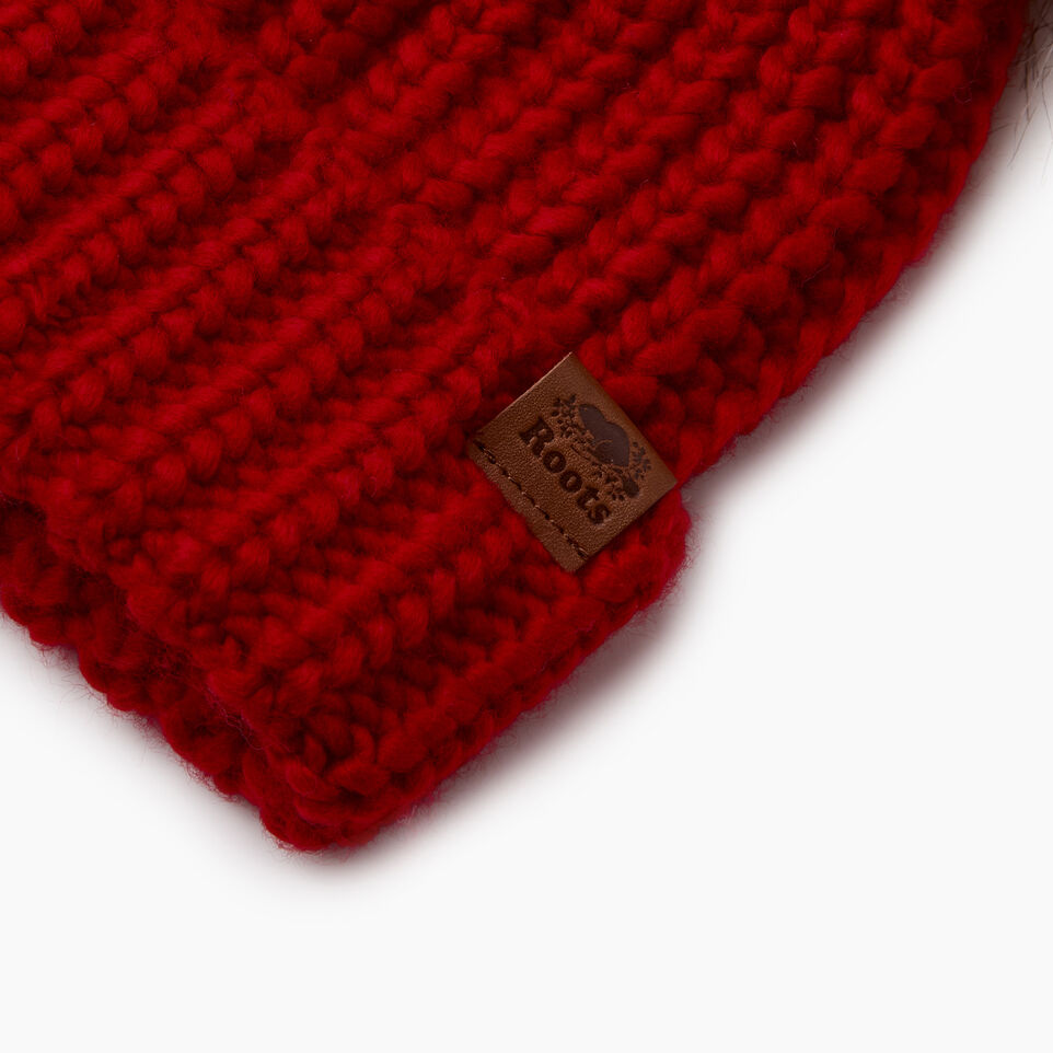 Roots-Sale Kids-Toddler Girl Olivia Toque-Cabin Red-D
