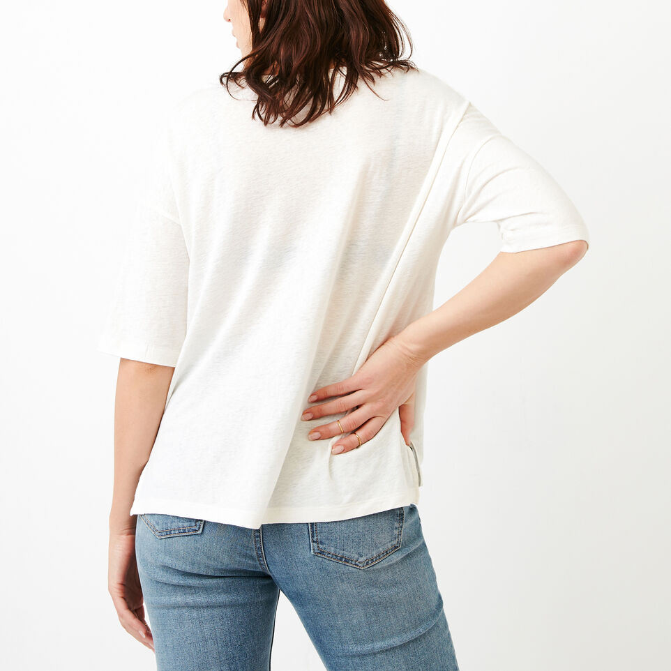 Roots-Women Clothing-Nicolet Top-Ivory-D