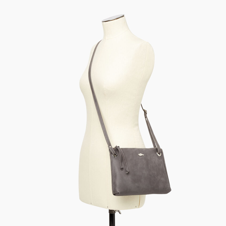 Roots-Leather New Arrivals-Edie Bag-Charcoal-B
