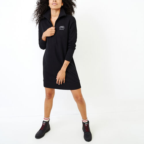 Roots-Women Our Favourite New Arrivals-Roots Breathe Dress-Black-A