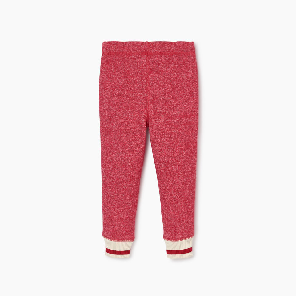 Roots-Kids Toddler Girls-Toddler Roots Cabin Cozy Sweatpant-Cabin Red Pepper-B