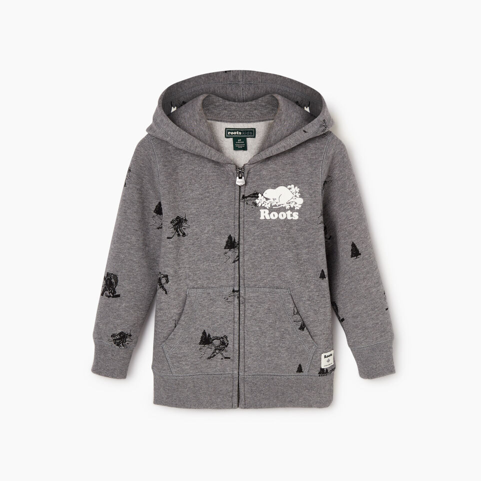 Roots-undefined-Toddler Hockey Aop Full Zip Hoody-undefined-A