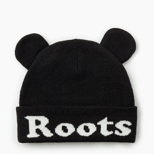 Roots-Kids Accessories-Toddler Cooper Glow Toque-Black-A