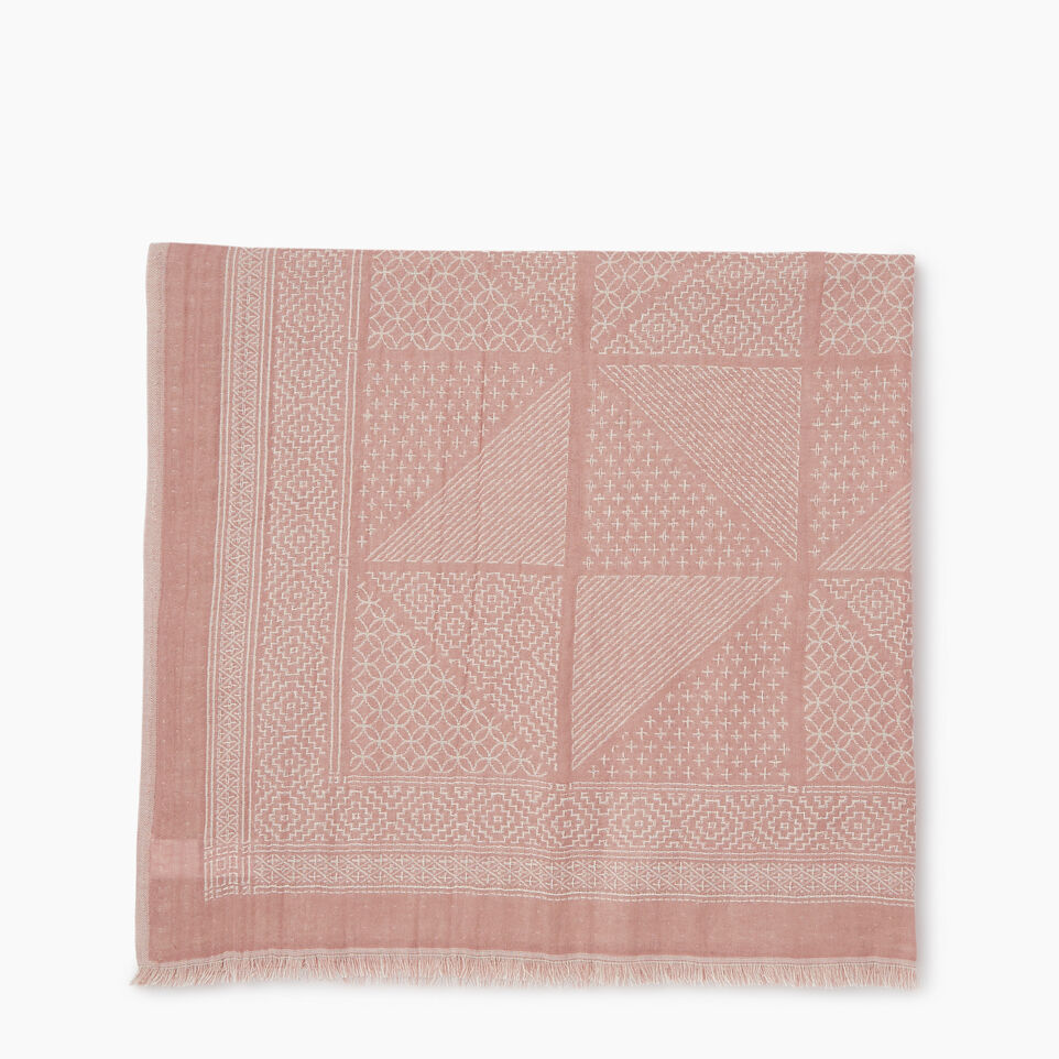 Roots-Women Our Favourite New Arrivals-Saguenay Scarf-Woodrose-B