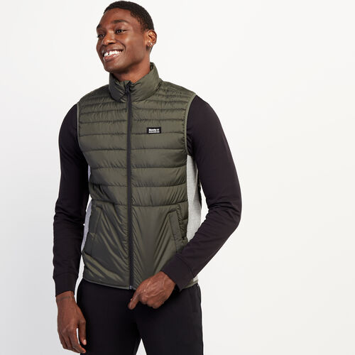 Roots-Men New Arrivals-Journey Hybrid Vest-Loden-A