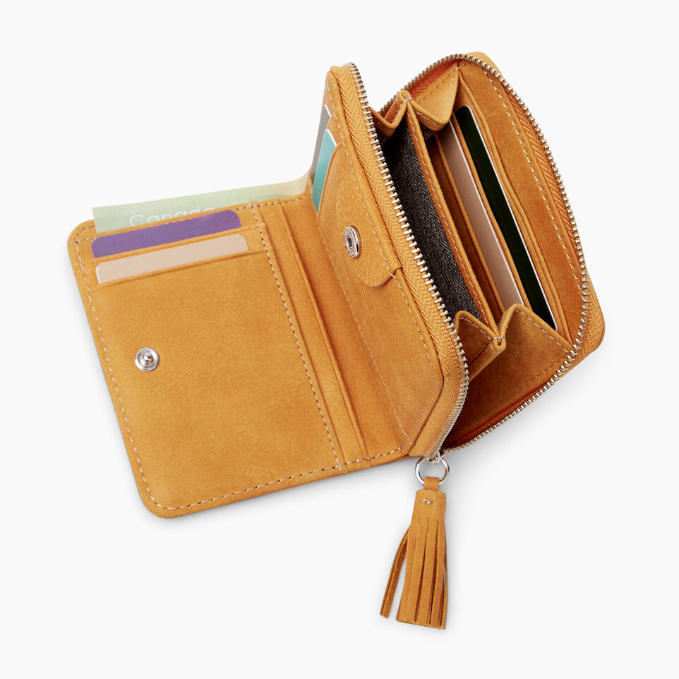 Small Tassel Wallet Tribe Womens Leather Wallets Roots