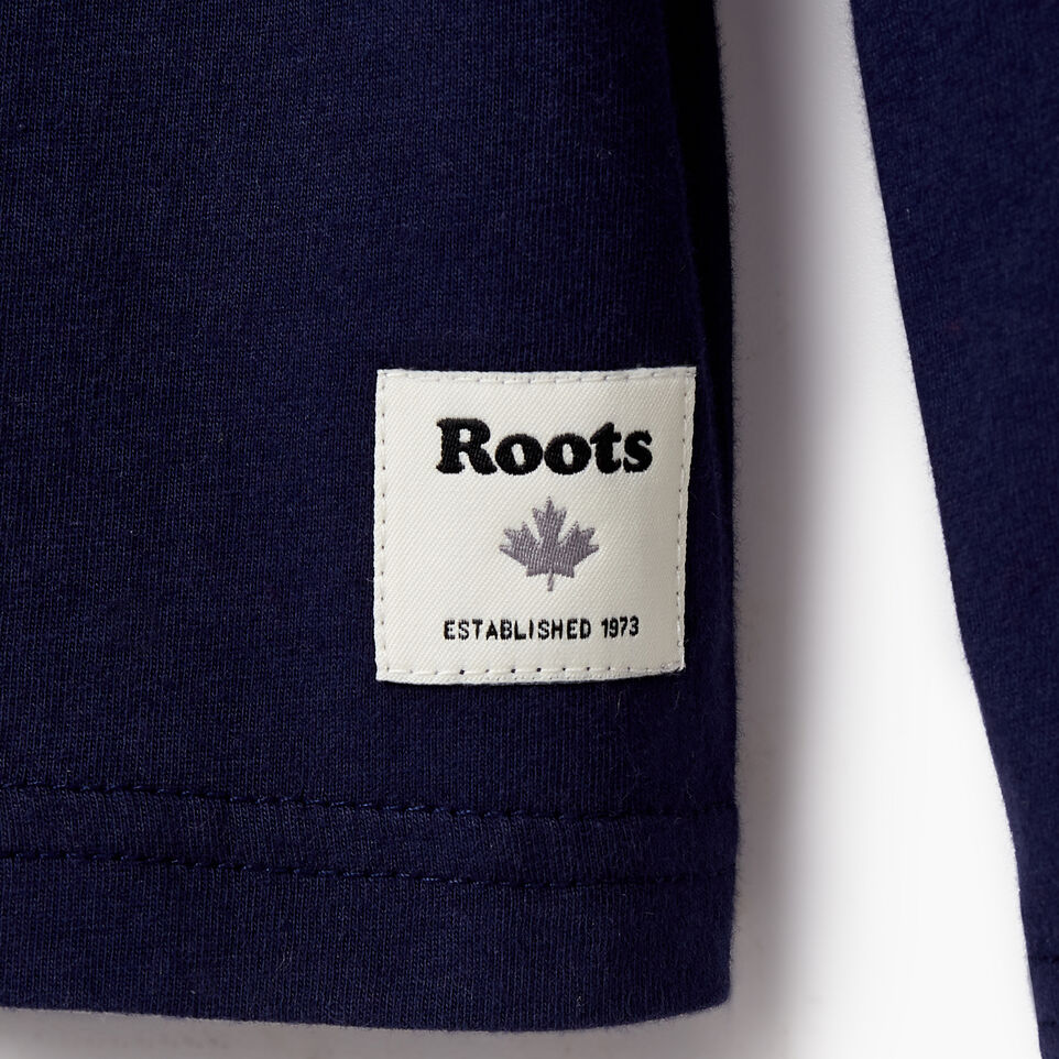 Roots-undefined-Boys Roots Rink T-shirt-undefined-D
