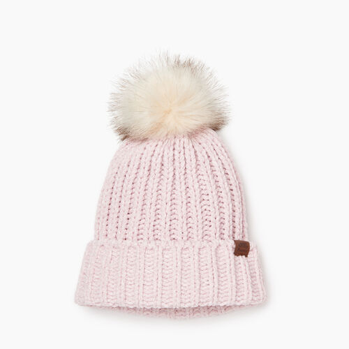 Roots-Kids Girls-Kid Girl Chenille Toque-Fragrant Lilac Ppr-A