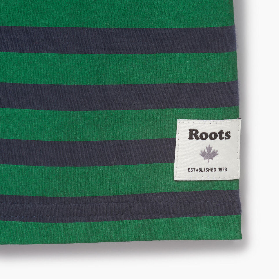 Roots-Kids Our Favourite New Arrivals-Boys Cooper Beach Stripe T-shirt-Navy Blazer-C
