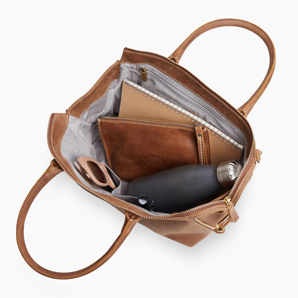 Roots-Leather New Arrivals-Arianna Bag Tribe-Natural-D