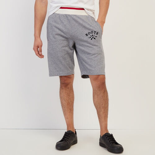 Roots-Men New Arrivals-Cabin Sweatshort-Light Salt & Pepper-A