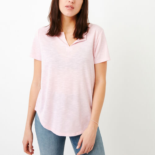 591098547b Roots-Clearance Tops-Jodie Top-Pink Mist-A