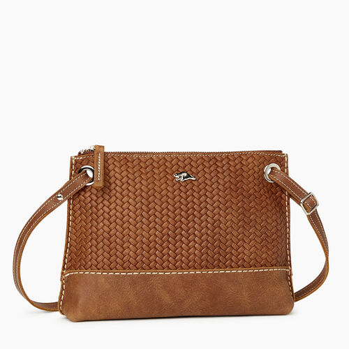 Roots-Leather New Arrivals-Edie Bag Woven-Natural-A