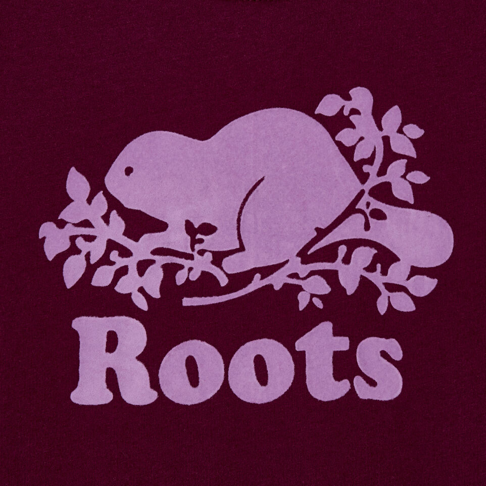 Roots-Kids Our Favourite New Arrivals-Girls Original Cooper Beaver T-shirt-Pickled Beet-E