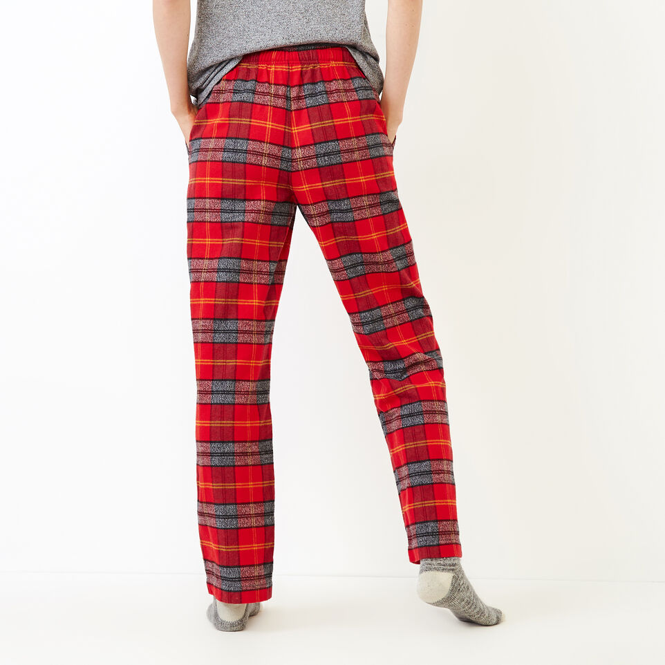 Roots-Women New Arrivals-Inglenook Lounge Pant-Cabin Red-D