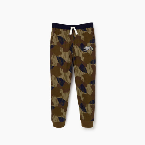 Roots-Clearance Kids-Boys Nova Scotia Camo Sweatpant-Camo Print-A