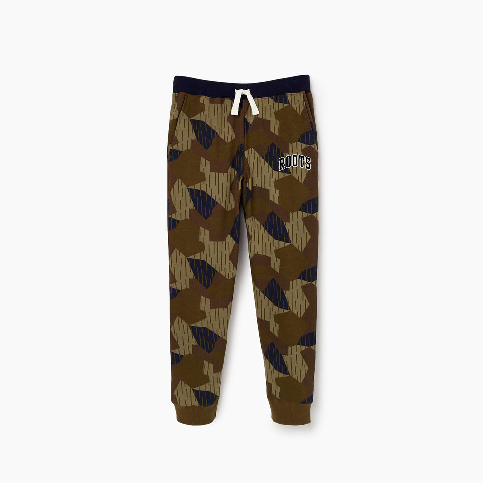 Roots-undefined-Boys Nova Scotia Camo Sweatpant-undefined-A