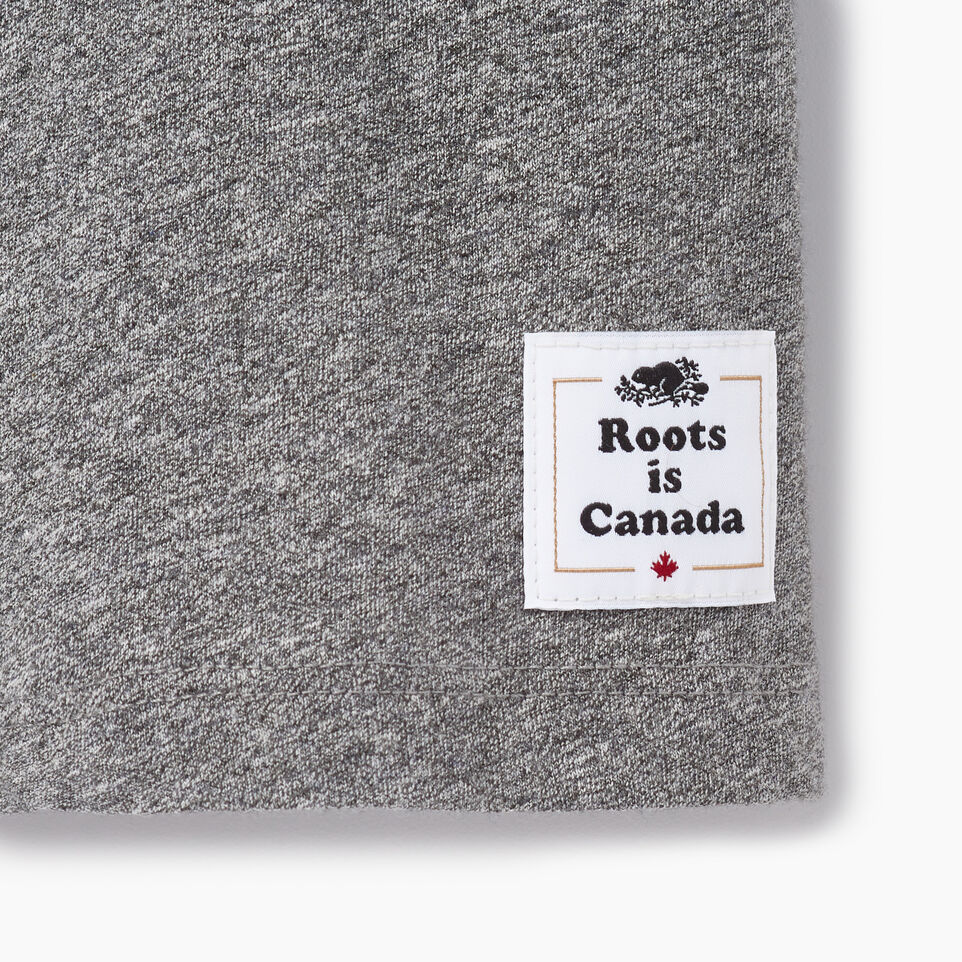 Roots-New For June Canada Collection By Roots™-Womens Roots Canada T-shirt-Grey Mix Pepper-C