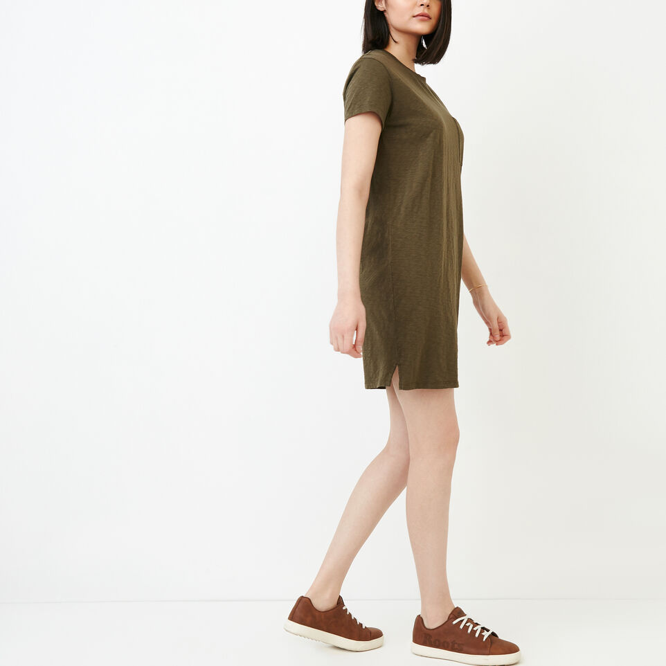 Roots-Women Our Favourite New Arrivals-Madeira Pocket Dress-Fatigue-C