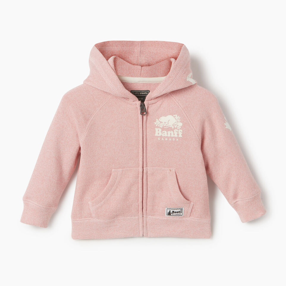 Roots-undefined-Baby Girl Banff Ski City Full Zip Hoody-undefined-A