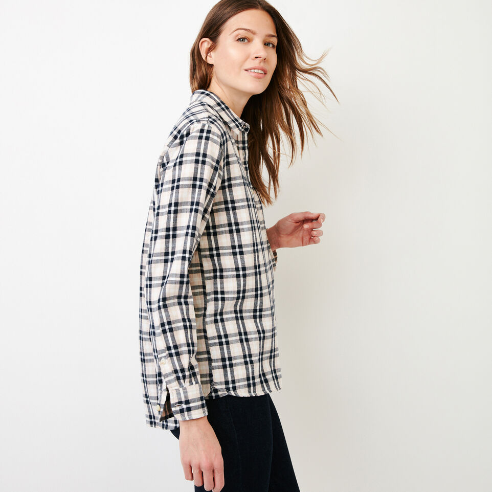 Roots-Women Our Favourite New Arrivals-All Seasons Relaxed Shirt-Pink Cloud-C