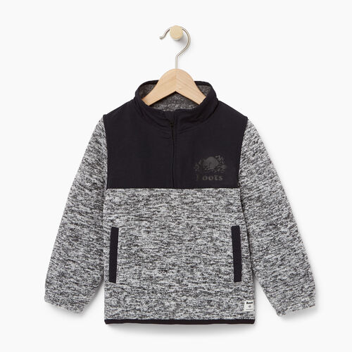 Roots-Kids Toddler Boys-Toddler Multi Fabric Pullover-Salt & Pepper-A