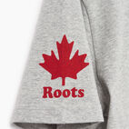 Roots-Men Canada Collection By Roots™-Mens Cooper Colours Canada T-shirt-Grey Mix-E