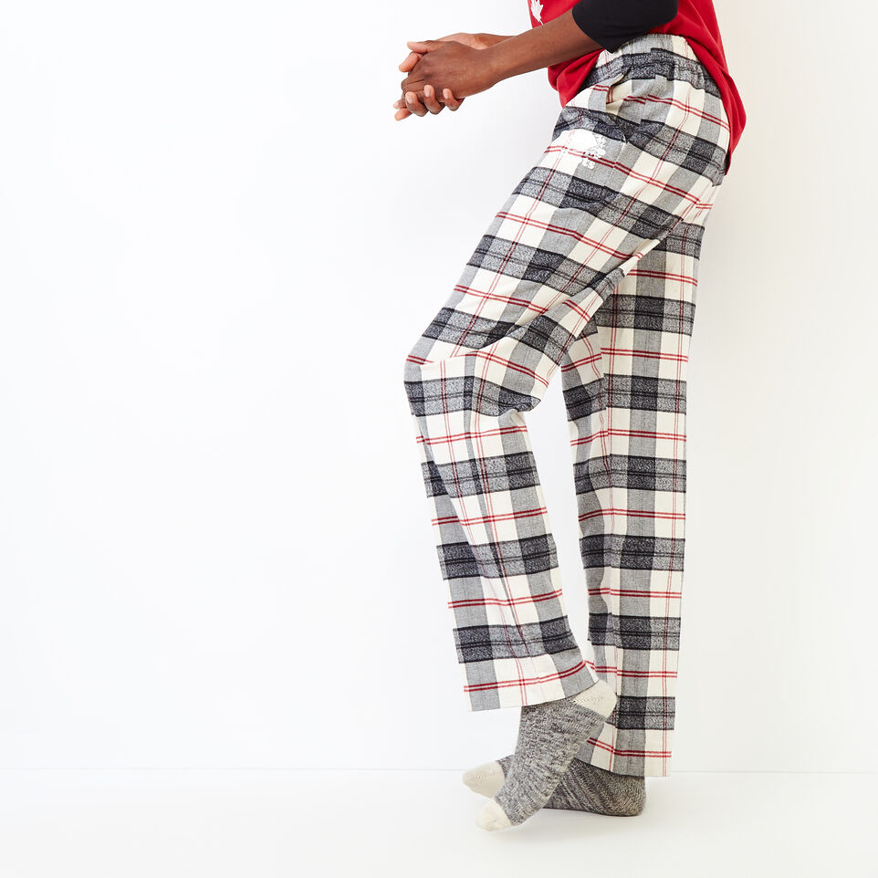 Roots-New For September Today Only: 40% Off Park Plaid Collection-Inglenook Lounge Pant-Birch White-C
