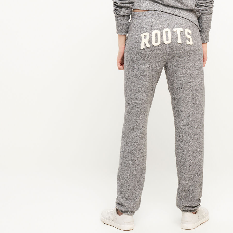 Roots-undefined-Pantalon en coton ouaté original Roots Salt and Pepper-undefined-A