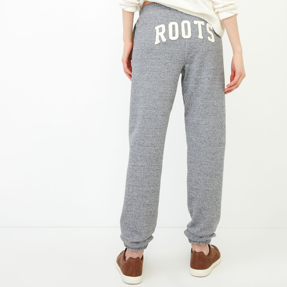 Roots-undefined-Roots Salt and Pepper Original Boyfriend Sweatpant-undefined-A