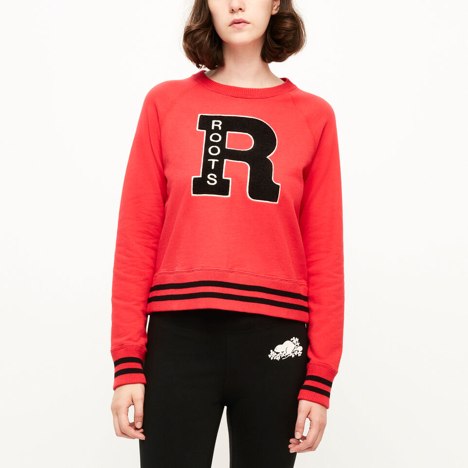 Roots-Springhill French Terry Crew Sweatshirt