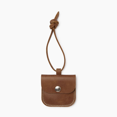 Roots-Women Leather Accessories-Leather Tie Pouch-Natural-A