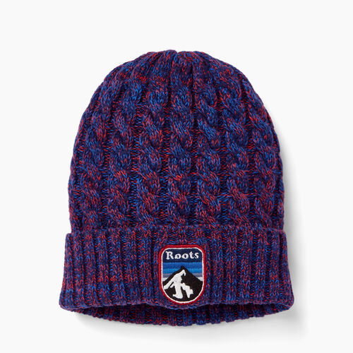 Roots-Clearance Kids-Kids Dawson Toque-Active Blue Mix-A