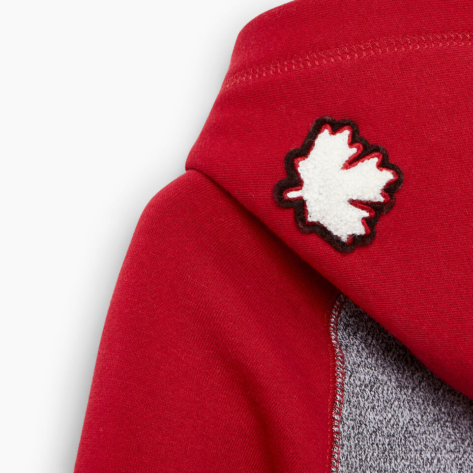 Roots-Kids Our Favourite New Arrivals-Girls Canada Hoody-Salt & Pepper-E