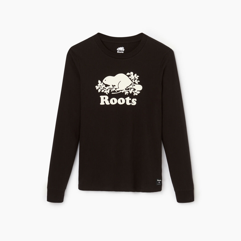 Roots-undefined-Womens Cooper Beaver Long Sleeve T-shirt-undefined-A